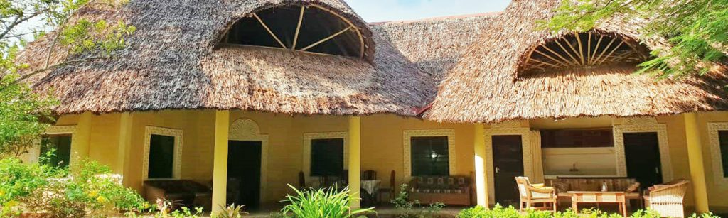 Our villa at Diani Beach